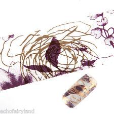 Schimmer Transfer Sticker Graffiti Pattern Nagel Folie Nail Foil 4*100cm