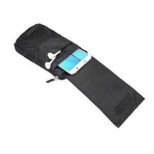 for Sonim XP8 Multi-functional XXM Belt Wallet Stripes Pouch Bag Case Zipper ...