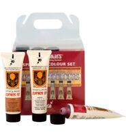 Jo Sonja's 6 Metallic Colours x 20ml Artists Acrylic Paint Tubes Set Art Kit