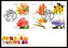Portugal / Madeira - 2006 Flowers - Mi. 243-48 FDC