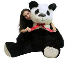 American Made Giant Stuffed Panda Bear 60 Inch Soft 5 Foot Teddybear White Chest