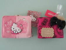 Hello Kitty Wallet Purse Coin Bag Card Holder Girls Gifts 2pcs/Set