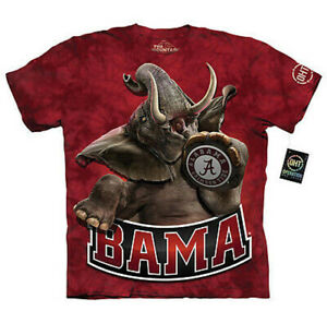 Alabama Crimson Tide Stomp T-Shirt by The Mountain ----Brand New---