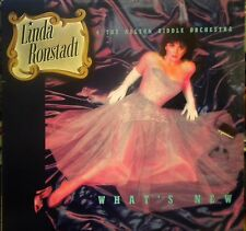 """LINDA RONSTADT WHAT'S NEW WITH NELSON RIDDLE Asylum Records 12"""" 33 RPM VINYL LP"""