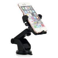 Universal Car 360°Rotating Windshield Stand Mount Holder Cradle F Cell Phone GPS