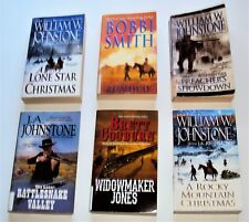 Western Paperbacks by Multiple Western Authors  6 Books