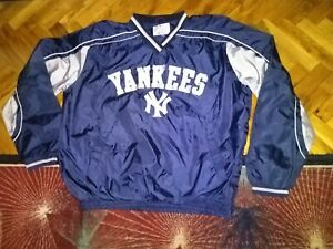 New York Yankees MLB G-iii sports by Barl Banks Jacket nylon navy blue XL