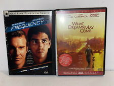 Dvd Lot Frequency What Dreams May Come Robin Williams Quaid Caviezel Sciorra