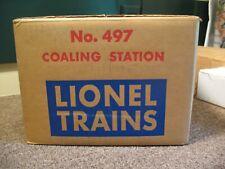 Lionel 497 Coaling Station, Factory-Sealed