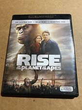 Rise of the Planet of the Apes (4K Uhd + Blu-Ray) No Code 2011