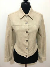 VERSACE Giubbotto Giacca Donna Cotone Cotton Woman Jacket Sz.XS - 38