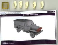 L'Arsenal Models 1/350 DODGE W54 AMBULANCE (5) Resin Set