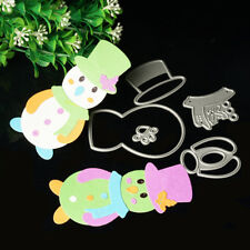 Snowman Cutting Dies Stencil DIY Scrapbooking Album Card Embossing Craft New