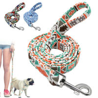 5ft Nylon Dog Walking Leash with Handle Durable Pet Training Walking Lead Rope