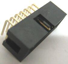 5 x Connettore IDC 14 poli, maschio, 90°. Passo 2.54mm