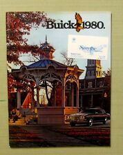 1980 ORIGINAL BUICK SALES CATALOG Smythe Buick Used Santa Clara CA Sara Hill 76p