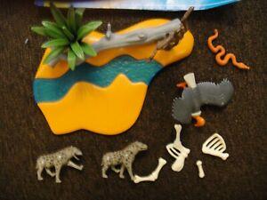 Playmobil Wasserstelle Hyänen  4829 komplett