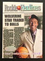 2000-01 Hoops Jamal Crawford Rookie Headliners Hot Prospects #RH15