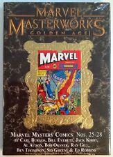 Marvel Masterworks #183 Marvel Mystery 25-28 New Sealed HC $74.99 Retail