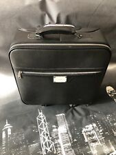 Wheeled Black Plagonni Business Travel Bag /case   Cabin Trolley