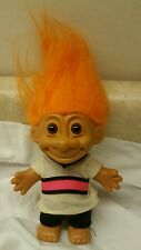 "5"" Russ Troll Doll - Orange Hair/Brown Eyes"