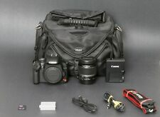 Canon EOS Rebel T1i 15.1MP DSLR, Black, EF-S 18-55 IS, Tested, Clean, Free Ship