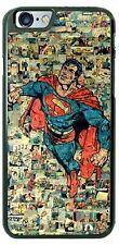 Vintage Poster Superman Superhero Phone Case For iPhone 11 Pro Samsung LG etc