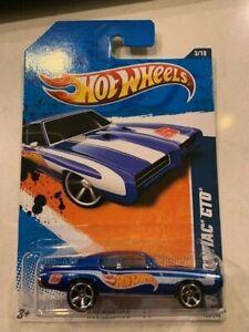 2011 Hot Wheels HW Racing '69 Pontiac GTO #153