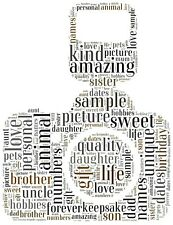 Personalised camera / photography word cloud picture. Camera word art