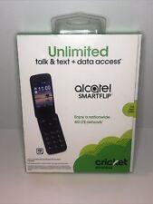 New listing Alcatel Smartflip -Cricket Wireless- Hd Voice Wifi Flip 4Gb New Sealed