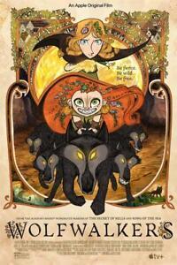 "Wolfwalkers Movie Poster Art Print 18x12 30x20 36x24"""