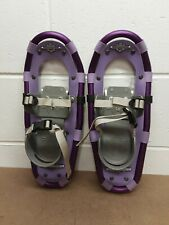 """Ll Bean Youth 16"""" Winter Walker Snow Shoes 25-60# Capacity Worn Very Little"""