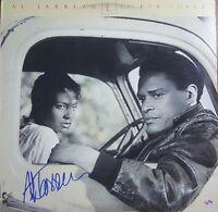 """Jazz Great"" Al Jarreau Hand Signed Album Mead Chadsky Hologram"
