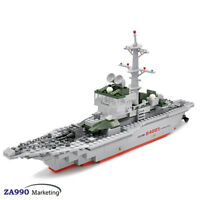 288pcs Military Navy Frigate WarShip Weapon Building Blocks Toys Gift For Kids