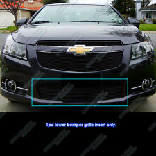Fits 2011-2014 Chevy Cruze LT/LTZ RS package Bumper Black Billet Grille Grill
