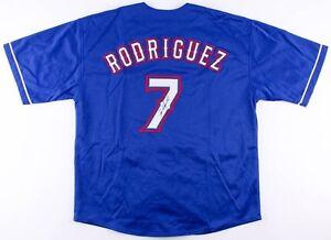 Ivan Rodriguez Signed Texas Rangers Jersey (JSA COA) 2017 Hall of Fame Catcher