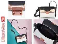 Avon LIPSY Colour Block Cross Body Bag~Metallic Effect~Brand New & Sealed~SALE