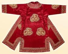 Gorgeous Uzbek Silk Gold Embroidered Robe Chapan Bukhara A5067