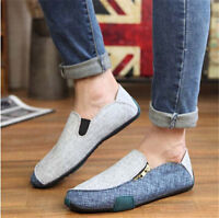 Men's Flats Soft Loafers Breathable Sneakers Casual Shoes New Arrival Style Pop