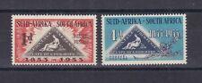 Sud Africa South Africa 1953 Centenario del francobollo triangolare 194-95 MNH