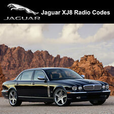 Jaguar Radio Code XJ8 Security Unlock Codes Sat Nav Decode - Fast Service