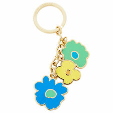DOONEY AND BOURKE BLUE SOMERSET WATERCOLOR KEY CHAIN FOB ORG. $48.00 BNWT in BOX