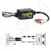 FUSION HL-02 - High to Low Level Converter Marine Cinch Adapter für Verstärker