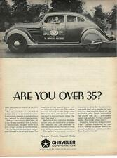 1964 Chrysler Ad/1934 Airflow/AAA record holder