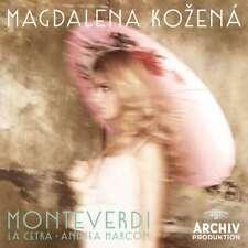 New: Monteverdi - MAGDALENA KOZENA CD
