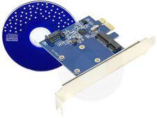 mSATA Mini PCI-E SATA SATA3.0 Combo PCI-E Card Adapter Converted Card