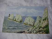 ARQ018 - THE NEEDLES - Isle of Wight - A R Quinton #1092 POSTCARD