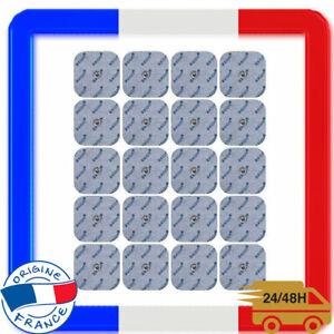 20 Electrodes Pour Electrostimulateurs BEURER SANITAS 45 x 45 mm Musculation