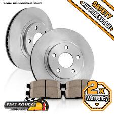 Front Brake Rotors and Ceramic Pads BAJA FORESTER IMPREZA WRX LEGACY OUTBACK
