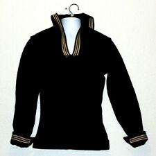 US Navy WW2 Dark Blue Jumper Naval Clothing Company Light Jacket Pullover Small